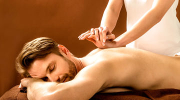 Man Receiving Deep Tissue Massage